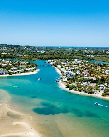 Séjour linguistique Noosa en Australie - plage