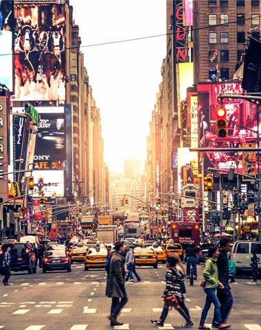 Englisch lernen in New York mit fRilingue