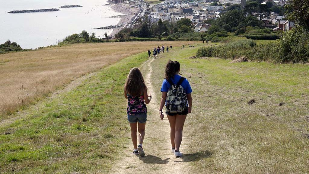 sidmouth-sprachaufenthalt-walk