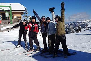 In Sankt Bernhard Ski & Sprachcamps machen mit fRilingue