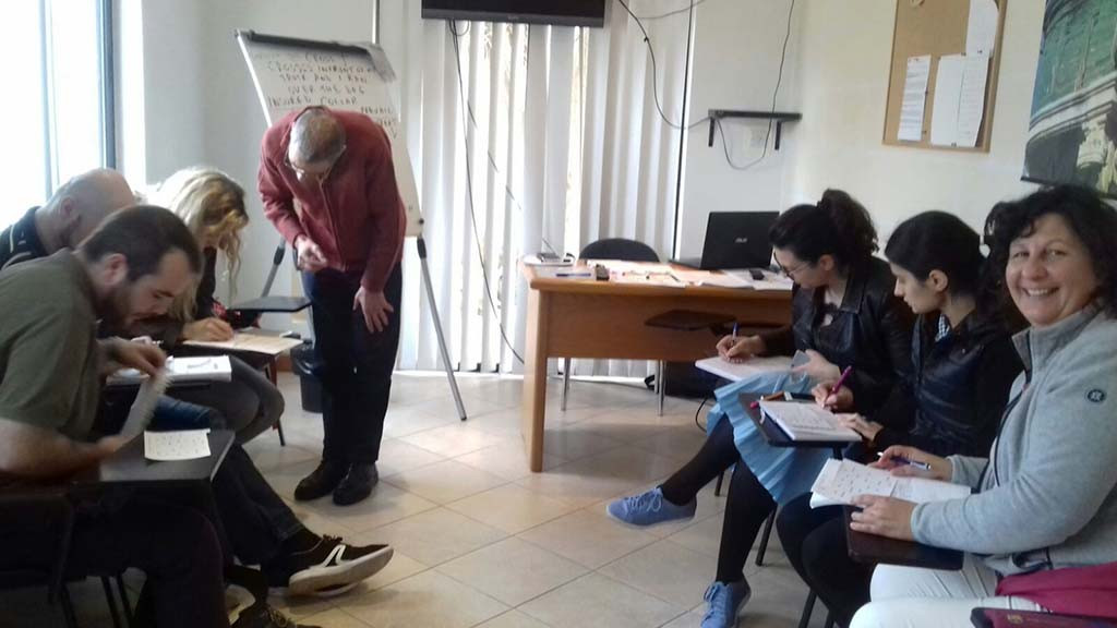 GSE_Malta_Adult_General_English_class_in_December